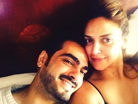 Image result for esha deol pics with hubby