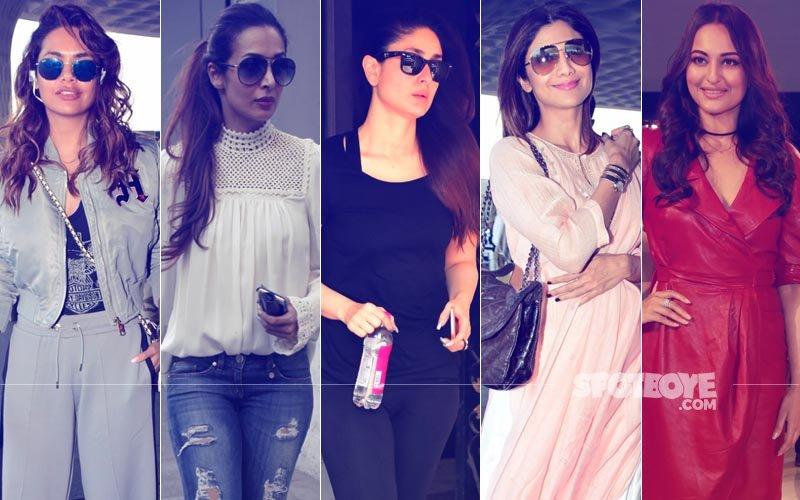 STUNNER OR BUMMER: Esha Gupta, Malaika Arora, Kareena Kapoor, Shilpa Shetty Or Sonakshi Sinha?