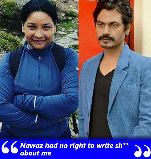 ex couple sunita rajwar and nawazuddin siddiqui