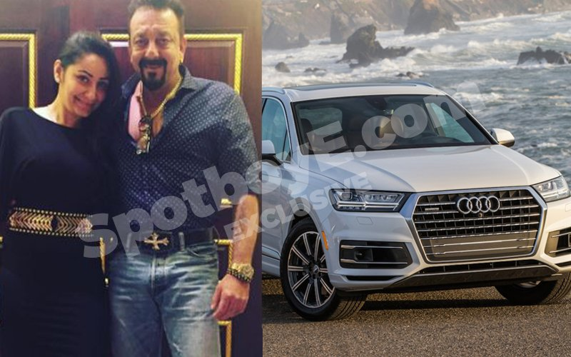 Manyata Dutt gifts Audi Q 7 to her darling husband