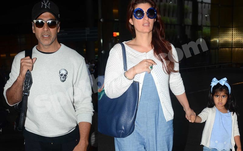Akshay-Twinkle return from their family vacay