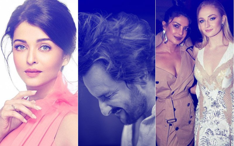 Fab Friday: Aishwarya Rai Bachchan's Angelic Look, Saif Ali Khan's Rockstar Avatar & Priyanka Chopra With Sophie Turner