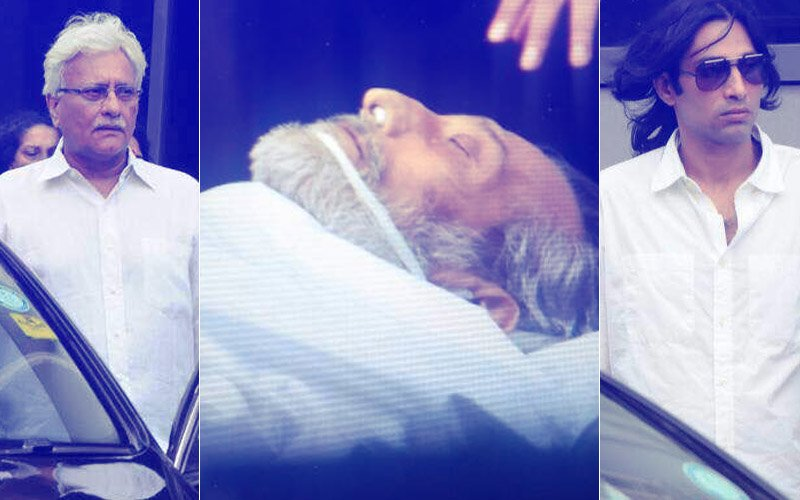 TERRIBLY SADDENING: First Pictures & Videos From The Hospital After Vinod Khanna's Death