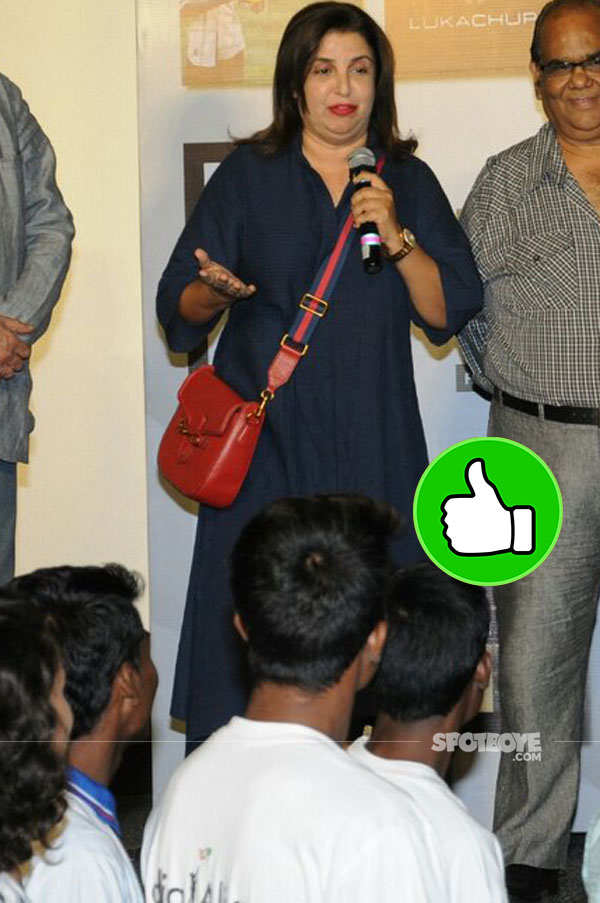 farah khan at india alive short film festival launch