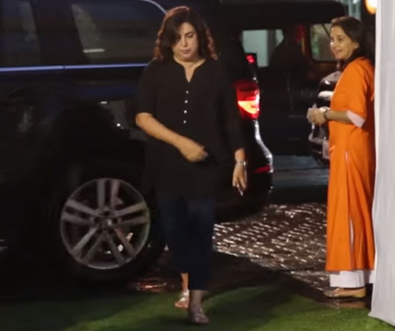 farah khan at kundan shahs prayer meet