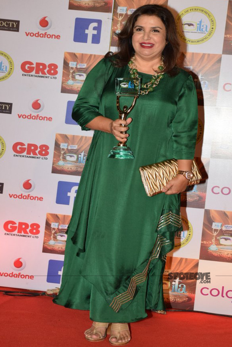 farah khan at the ita awards
