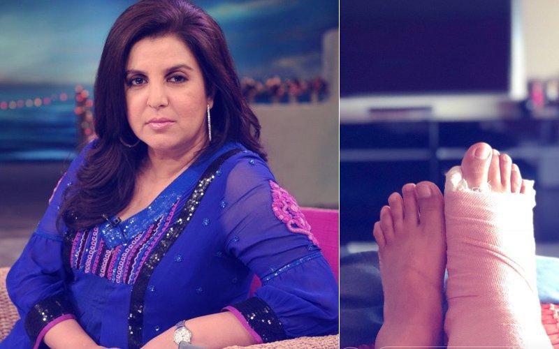 OH NO! सोनम कपूर के संगीत के 6 दिन पहले फ्रैक्चर हुआ कोरियोग्राफर फराह खान का पैर