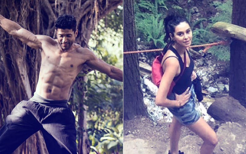 Farhan Akhtar & Shibani Dandekar Go Hiking In Vancouver. Love Is In The Air!