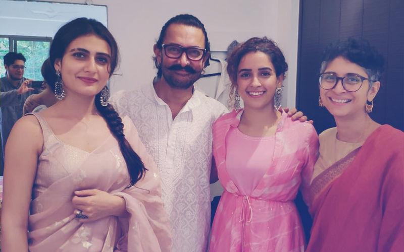 Aamir Khan, Kiran Rao, Fatima Sana Shaikh, Sanya Malhotra's Eid Get-Together