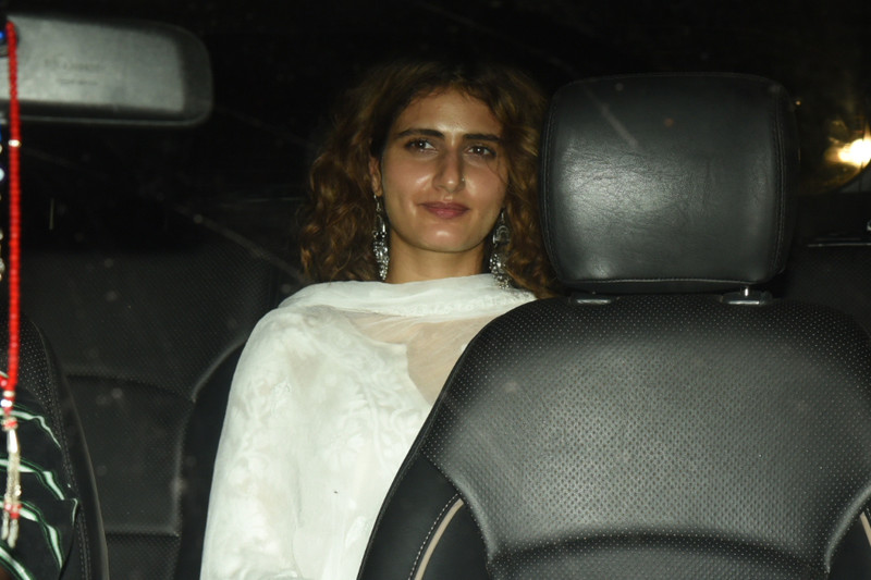 fatima sana shaikh at the screening