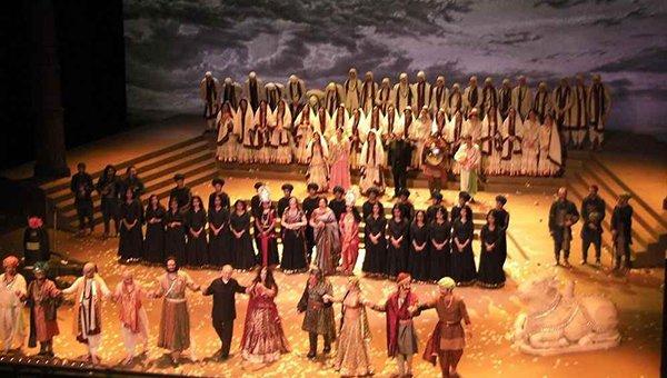 padmavati the opera staged in Paris