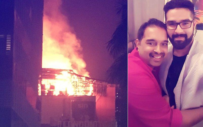 fire at lower parel kamla mills