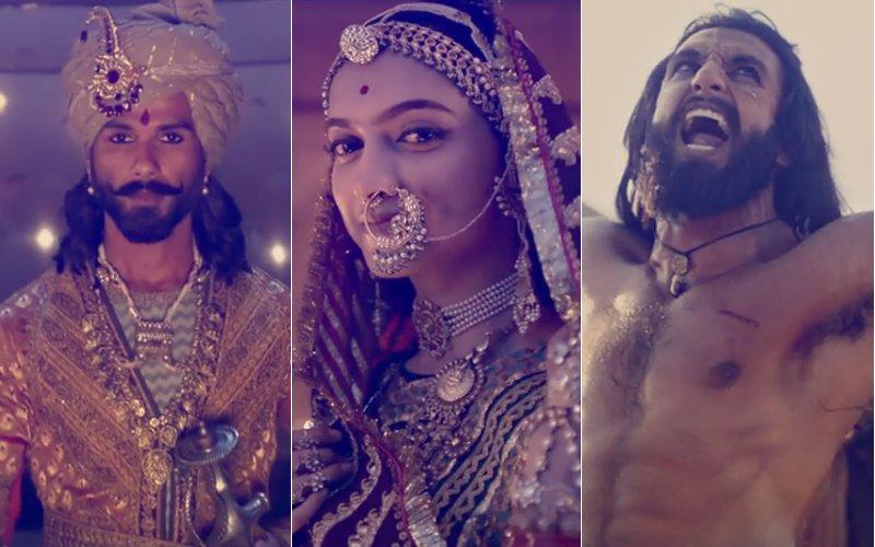 Padmavati Trailer: 5 Best Scenes From Deepika Padukone, Ranveer Singh & Shahid Kapoor Starrer