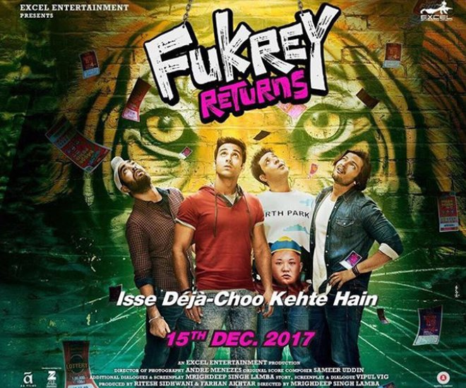 fukhrey returns poster