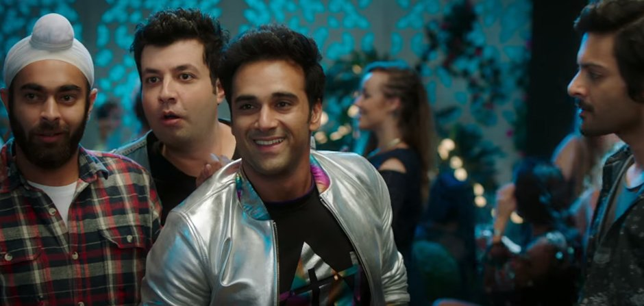 fukrey gang in mehbooba song