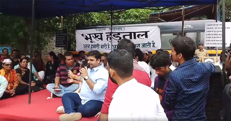 fwice workers go on a hunger strike