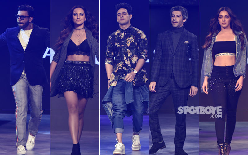 Ranveer Singh, Sonakshi Sinha, Priyank Sharma, Jim Sarabh, Kiara Advani Dazzle On The Ramp