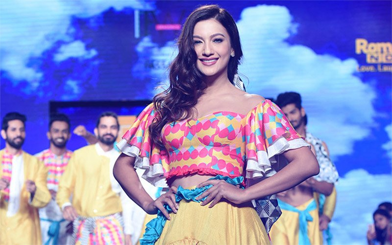 Gauahar Khan Walks The Ramp At Goa Beach