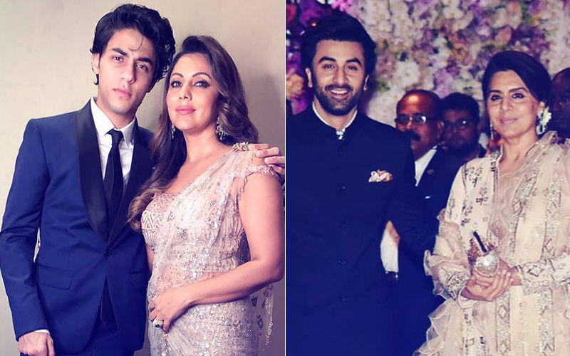 Mom's The Word: Gauri-Aryan Khan & Ranbir-Neetu Kapoor Share Heart-Melting Moments At The Ambani Engagement Party