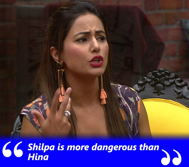 gauri pradhan says shilpa shinde is more dangerous than hina khan