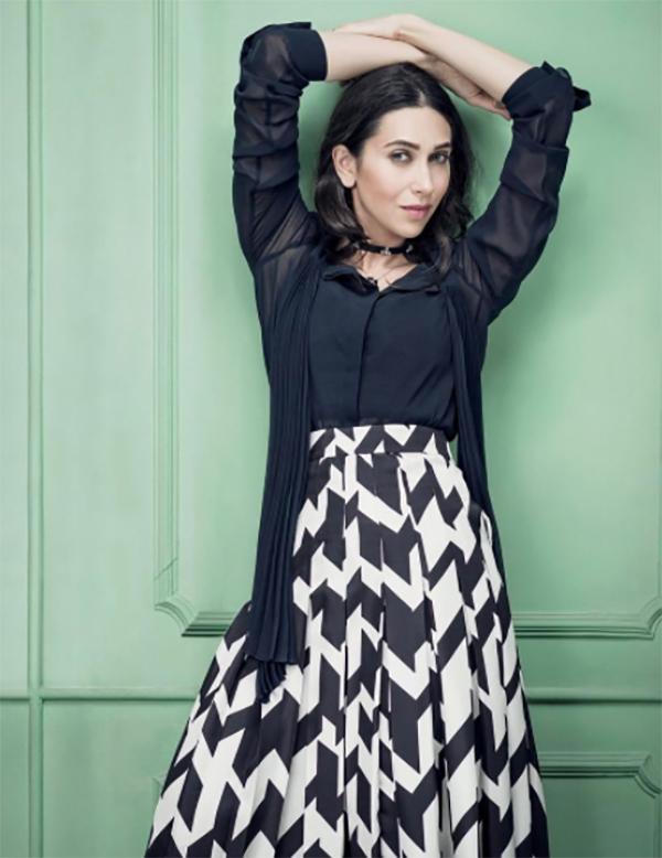 karisma kapoor strikes a glamorous pose