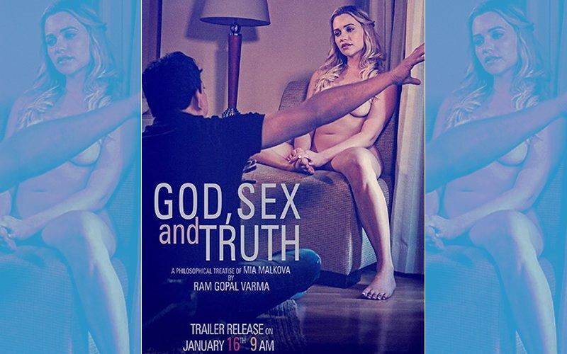 God, SEX & Truth Poster Out: Ram Gopal Varma Artistically Covers A NUDE Mia Malkova