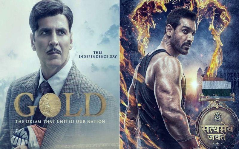 गोल्ड और सत्यमेव जयते Box Office Collection Day 4: कमाई के मामले अक्षय कुमार और जॉन अब्राहम में कौन मार रहा है बाजी?