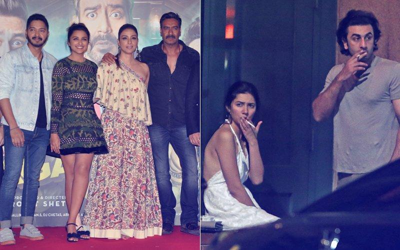 Golmaal Again Trailer Launch: Parineeti Chopra Supports Mahira Khan, Ajay Devgn Teases Rohit Shetty
