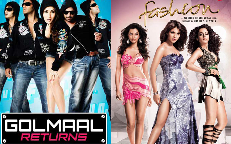 golmaal returns and fashion