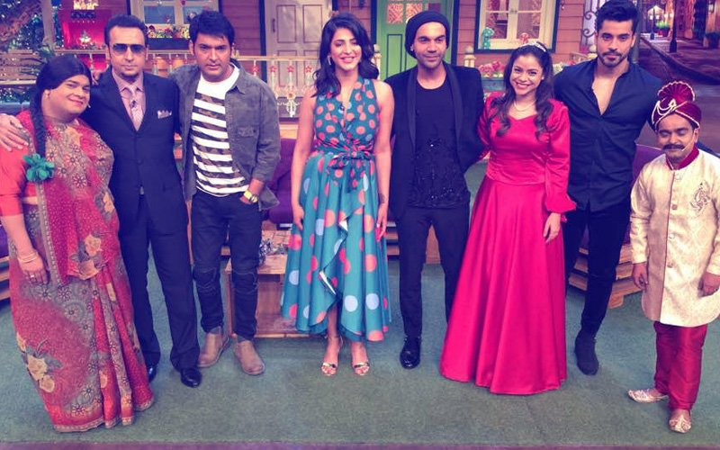 Rajkummar Rao, Shruti Haasan & Gulshan Grover Bring Laughter To The Kapil Sharma Show