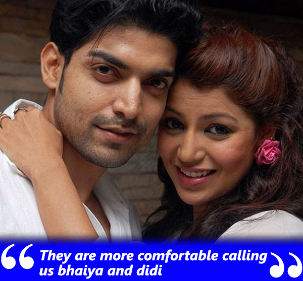 gurmeet choudhary and debina bonnerjee are called bhaiya and didi by their adopted daughters