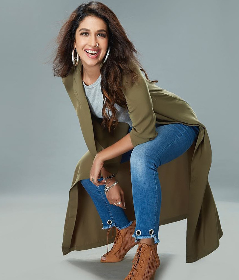 harleen sethi poses for a photo shoot