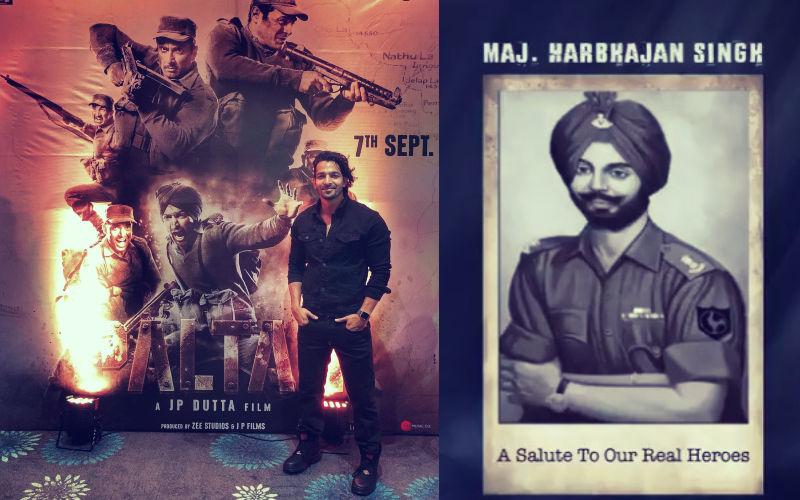 फिल्म पलटन में ऐसा होगा हर्षवर्धन राणे का किरदार, मेजर हरभजन सिंह के रोल में आएंगे नज़र