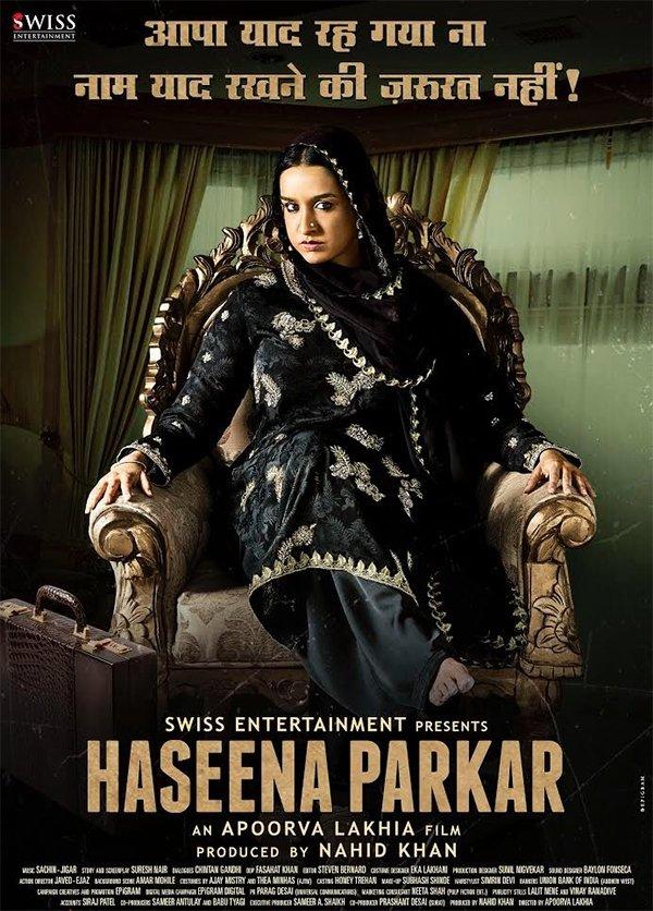 poster of haseena parkar