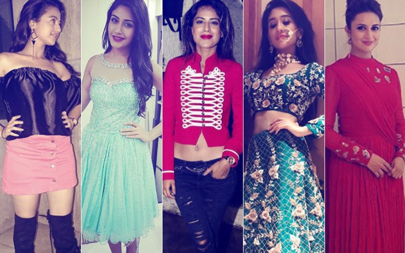 WORST DRESSED TV CELEBS Of 2017: Helly Shah, Surbhi Chandana, Nia Sharma, Shivangi Joshi Or Divyanka Tripathi?