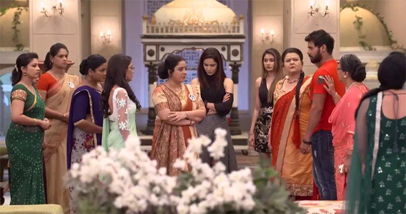high drama in kum kum drama shabbir ahluwalia and sriti jha