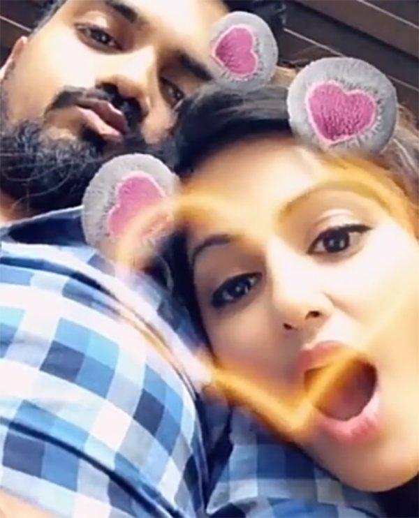 hina khan rocky jaiswal