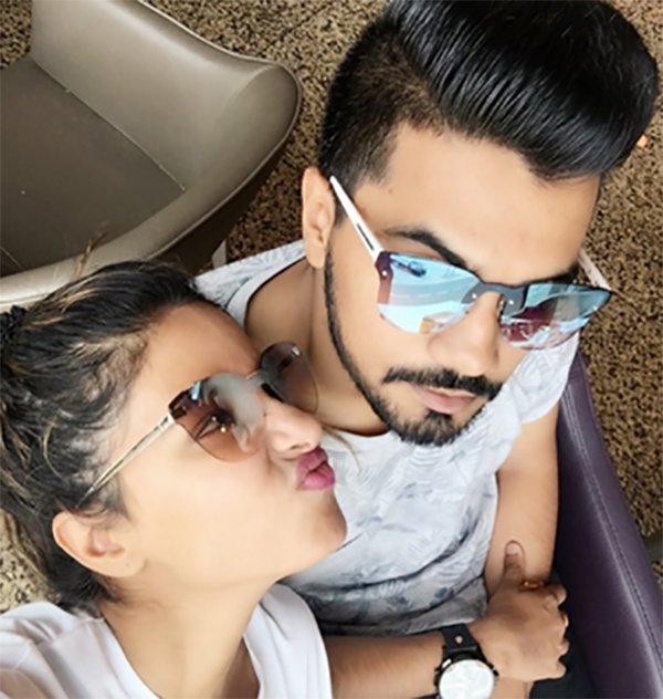 hina khan and rocky jaiswal together
