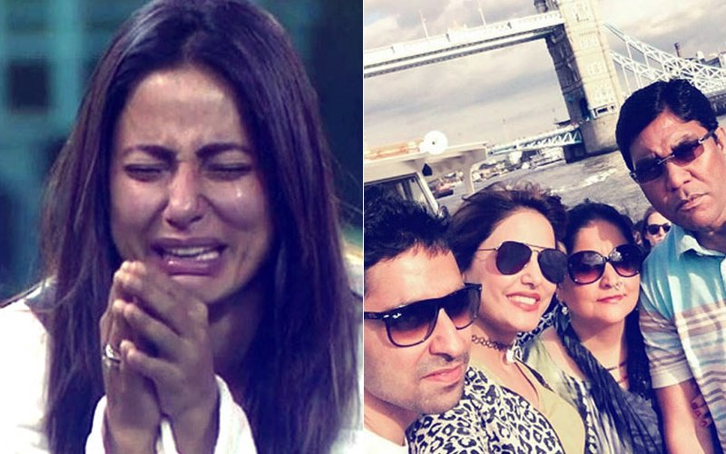 Bigg Boss 11: Hina Khan Breaks Down, Father DISTURBED By Daughter's OUTBURST