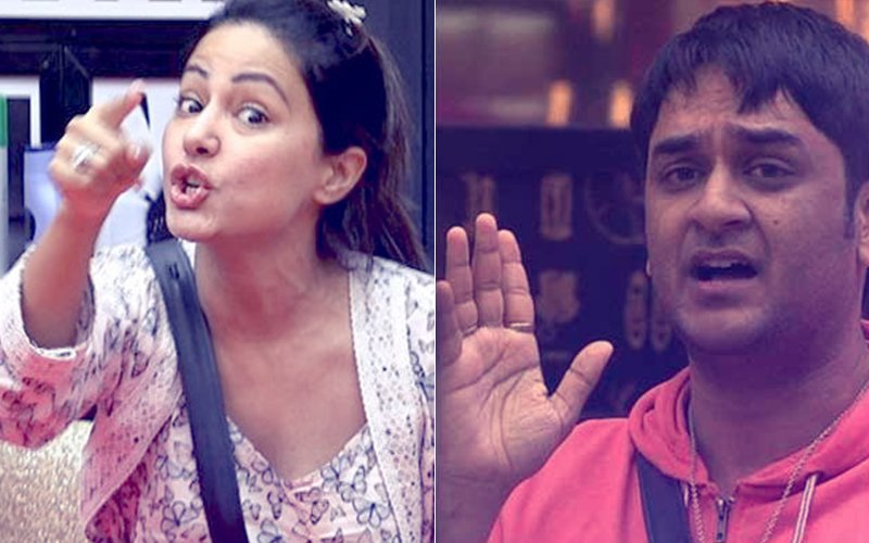 Bigg Boss 11: Hina Khan Calls Vikas Gupta Ghatiya - Friends Turn Foes
