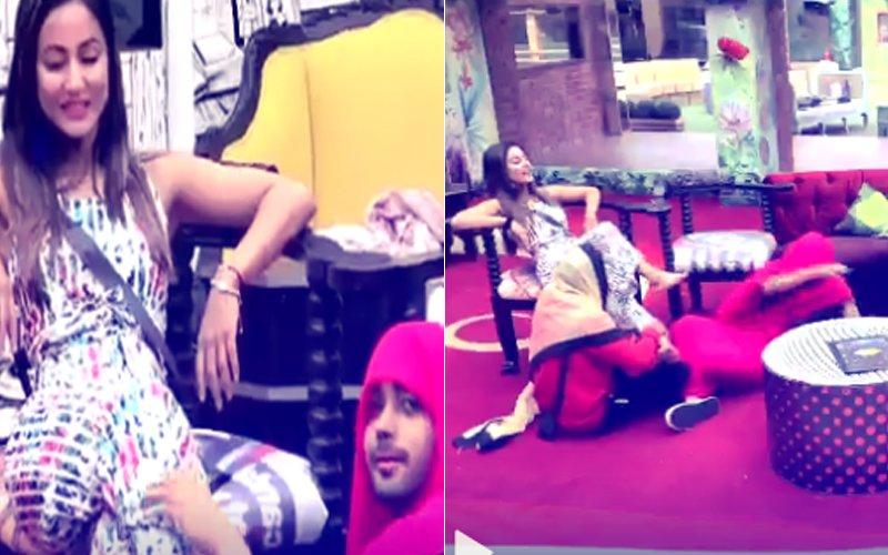 Bigg Boss 11: WHAT! Luv Tyagi Calls Hina Khan 'JALLAD'