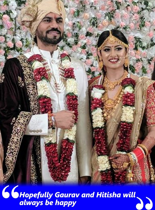 hopefully gaurav and hitisha will always be happy
