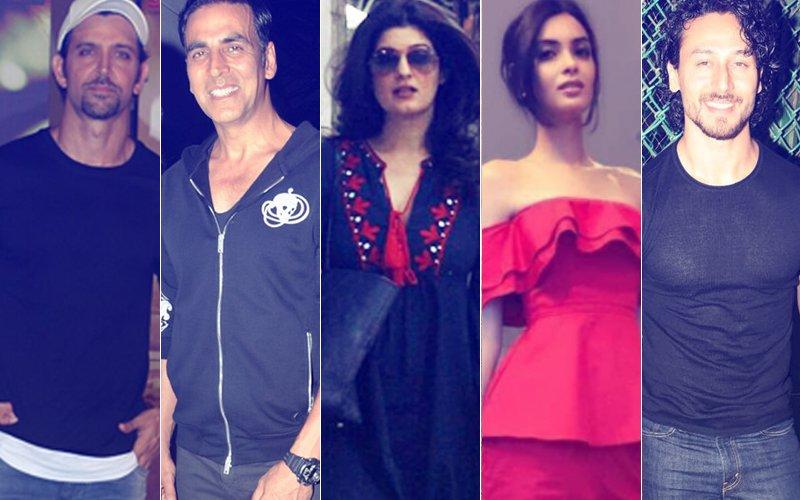 STUNNER OR BUMMER: Hrithik Roshan, Akshay Kumar, Twinkle Khanna, Tiger Shroff Or Diana Penty?