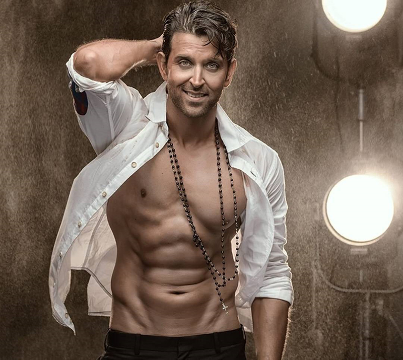 hrithik roshan poses for a photoshoot
