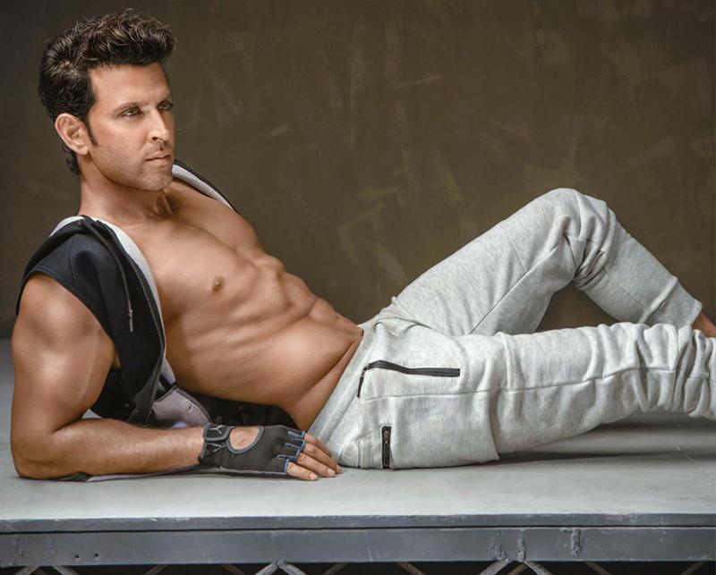 hrithik roshan posing for a photo shoot