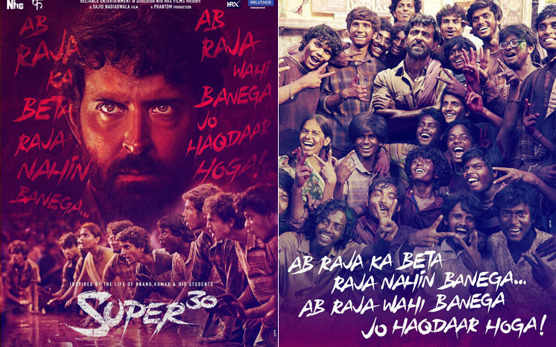 Super 30 Posters Released On Teacher's Day: Hrithik Roshan Sends Out A Strong Message