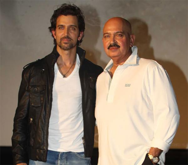 hrithik roshan with dad rakesh roshan