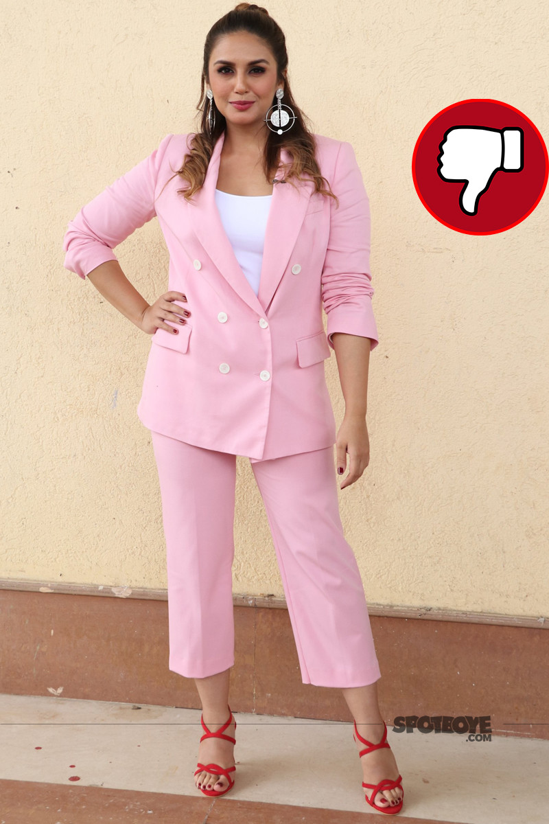 huma qureshi snapped post shooting for india best dramebaaz