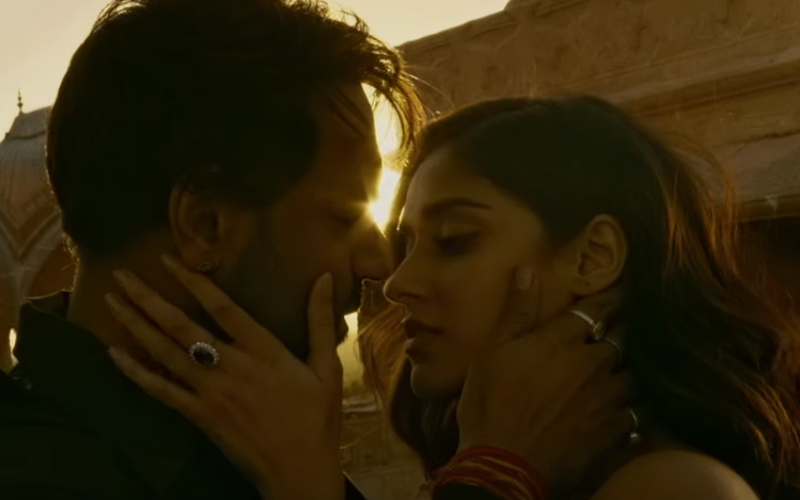 ileana dcruz and ajay devgn in baadsaho