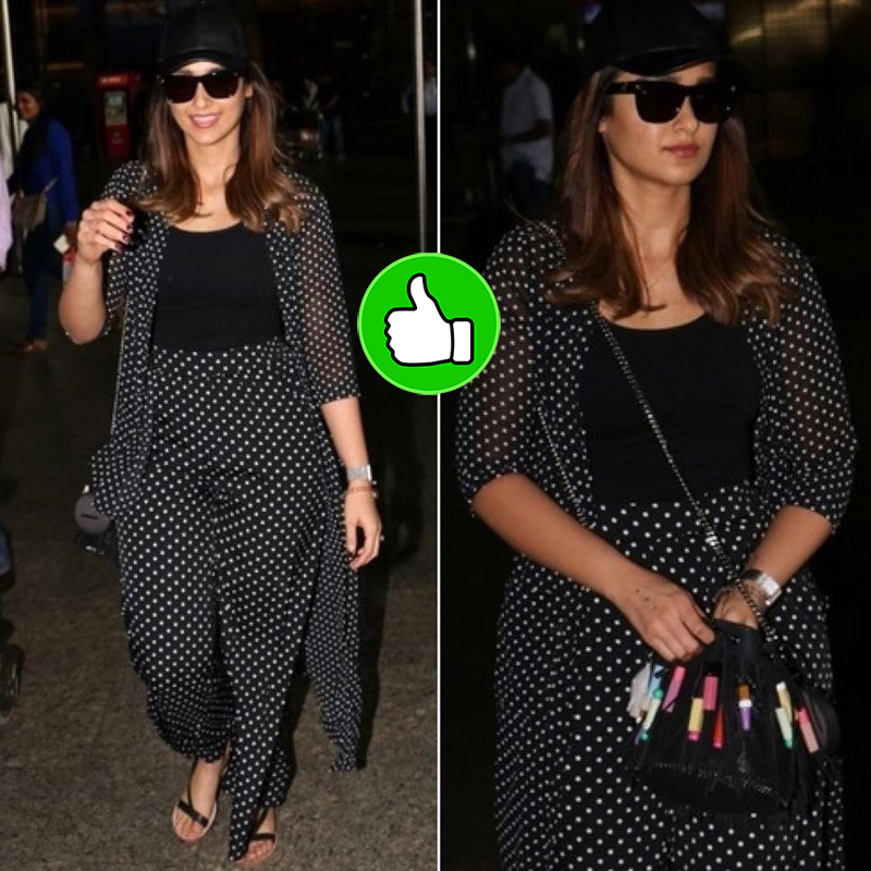 ileana dcruz spotted at the airport